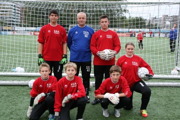 Keepersschool Groot Amsterdam De trainingsgroep van Ed Zuidhoek